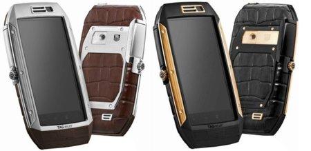 Tag Heuer Link, el móvil de lujo que quería ser reloj