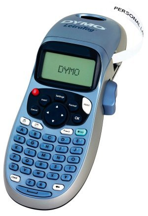 DYMO Letra Tag LT 100H, todo correctamente etiquetado