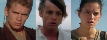 Tres generaciones de Skywalker