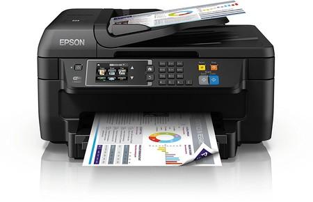 Oferta Prime: impresora multifunción Epson WorkForce WF2760 WiFi por 69 euros y envío gratis