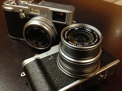 Fujifilm X100S y Fujifilm X20: toma de contacto