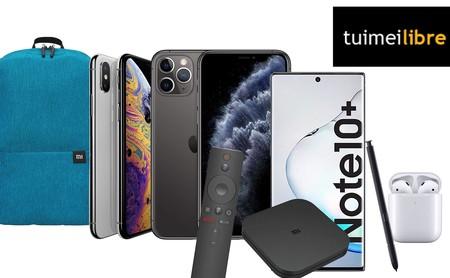 Ofertas de la semana en tuimeilibre: iPhone, AirPods, Xiaomi Mi TV Box S o Samsung Galaxy Note 10 a precios de chollo