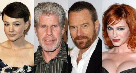 Carey Mulligan, Ron Perlman, Bryan Cranston y Christina Hendricks en 'Drive'