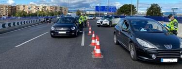 Multas de entre 600 y 600.000 euros por incumplir las restricciones de movilidad en Madrid