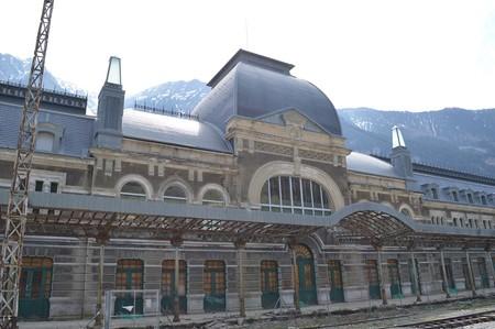 Estación de tren bonitas