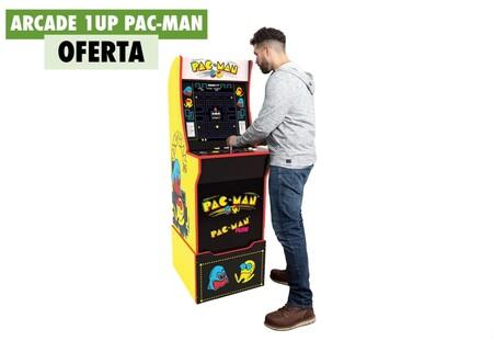 Esta Arcade 1UP con el clásico Pac-Man está a su precio mínimo hoy en Amazon: un salón de recreativas en tu casa por 319 euros