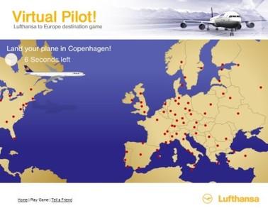 Virtual Pilot: aprende geografía con Lufthansa