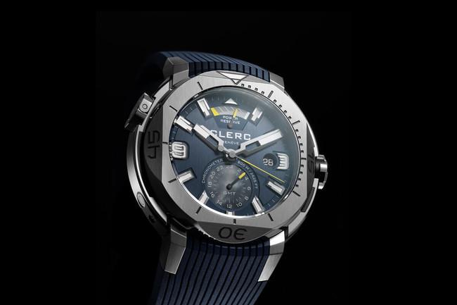 Objetos de deseo: el reloj de buceo de Clerc en azul noche