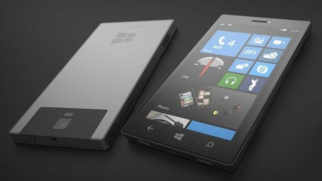 Microsoft phone Mockup