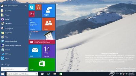 Windows 10 9901 Menu