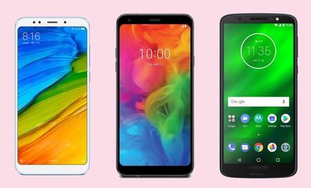 LG Q7 contra la gama media Android: así queda frente al Moto G6, Redmi 5, P Smart y más