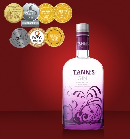 Ginebra Tann`s, medalla de plata en la San Francisco World Spirits Competition 2013