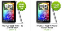 HTC Flyer a la venta hoy desde 499 euros