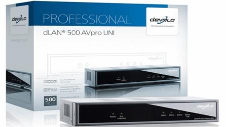 Devolo dLAN 500 AVPro UNI, PLC universal para pequeñas empresas