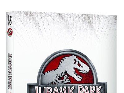 Colección Jurassic Park, en Blu-ray, por 15,25 euros y envío gratis