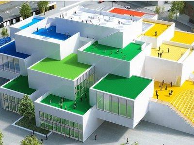 Todo encaja a la perfección en LEGO House, el nuevo museo de Dinamarca