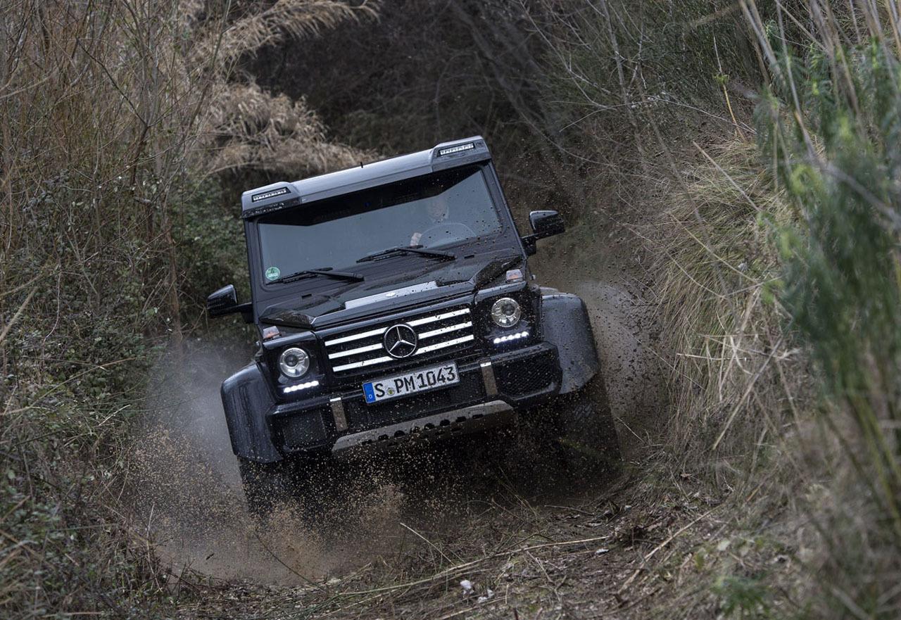 Foto de Mercedes-Benz G 500 4x4², toma de contacto (69/127)