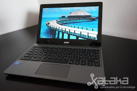 Acer C720 Chromebook, análisis
