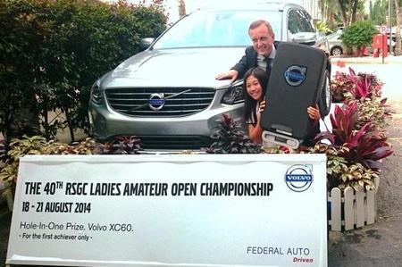 Niña de 12 años se gana Volvo XC60 en Malasia