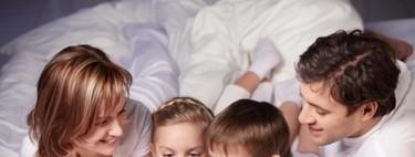 ¿Lees cuentos a tus hijos por la noche? Sólo el 13% de los padres lo hace