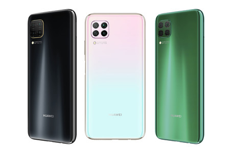 Huawei P40 Lite Oficial Colores