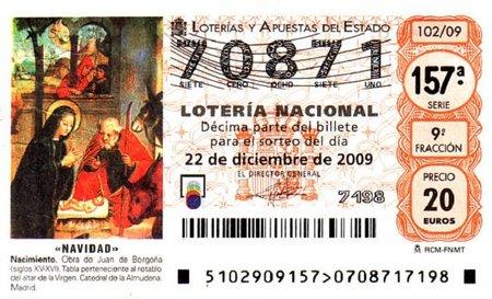 Cuidado con la lotería de navidad, es una costumbre peligrosa