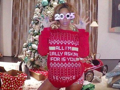 Este año (y siempre) el espíritu navideño lo pone Beyoncé