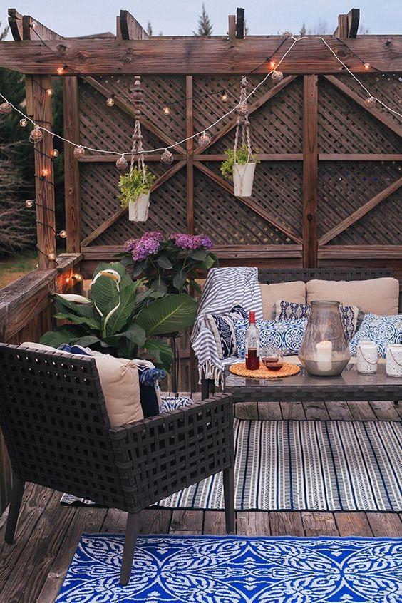 Fiesta en la terraza