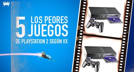 Los cinco peores juegos de PlayStation 2 según VidaExtra