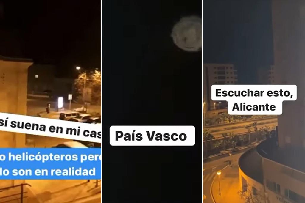 En tiempos extraños, una teoría de la conspiración: ruidos y luces en los cielos de todo el mundo