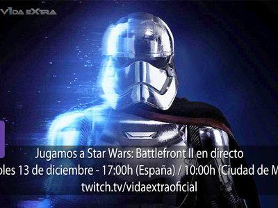 Streaming de Star: Wars: Battlefront II a las 17:00h (las 10:00h en CDMX)