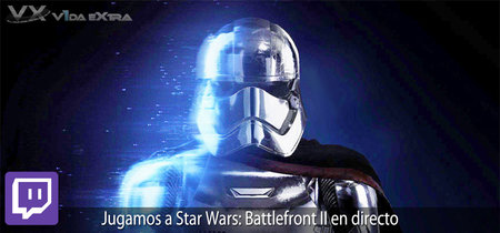 Streaming de Star: Wars: Battlefront II a las 17:00h (las 10:00h en CDMX)