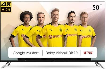 """Disfruta de Netflix, Disney+, HBO y más en pantalla grande: estrena un Smart TV 4K de 50"""" a precio de escándalo con este cupón de descuento"""