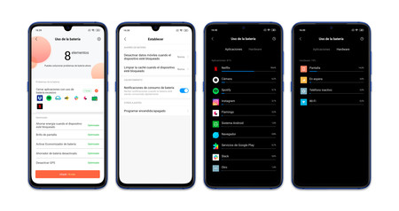 Xiaomi Mi 9 Autonomia Opciones