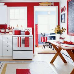 Foto 3 de 9 de la galería decorar-en-rojo-y-blanco en Decoesfera