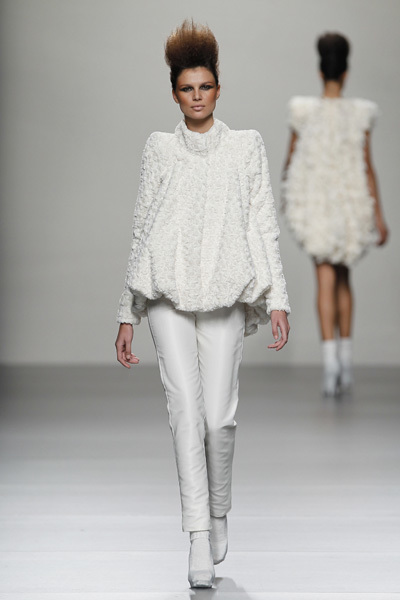 Juana Martín en la Cibeles Madrid Fashion Week Otoño-Invierno 2011/2012