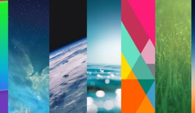 Una colección de Wallpapers un tanto retro para tu iPad