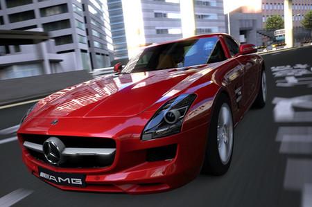 Gran Turismo 5 contará con el Mercedes-Benz SLS AMG