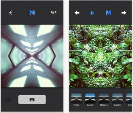 Mirrorgram, crea imágenes caleidoscópicas con tu iPhone