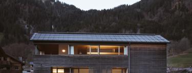 Una cabaña austriaca convertida en un paraíso de vacaciones en cualquier época del año y en Navidad aún más deseada