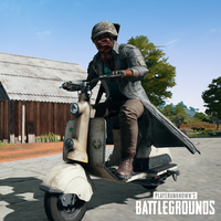 Las scooters llegan a PlayerUnknown's Battlegrounds para sustituir a las motos en Shanhok