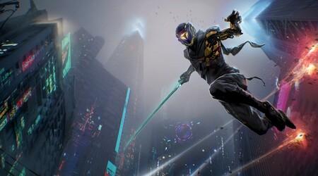 Ghostrunner nos permitirá saltar y repartir tajos sin parar en su mundo cyberpunk cuando llegue a finales de octubre