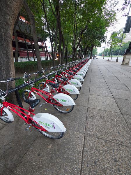 bicicletas en reforma mexico