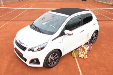 El Peugeot 108 más tenista