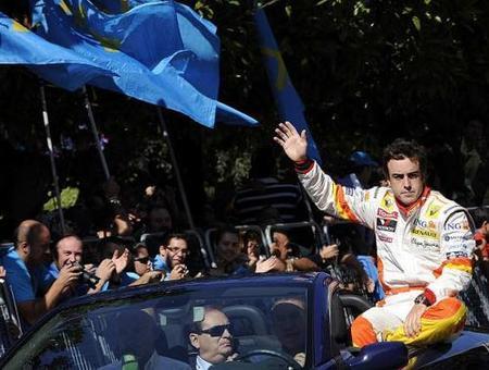 Fernando Alonso ya tiene calle en Oviedo
