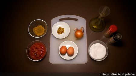 Huevos al curry - ingredientes
