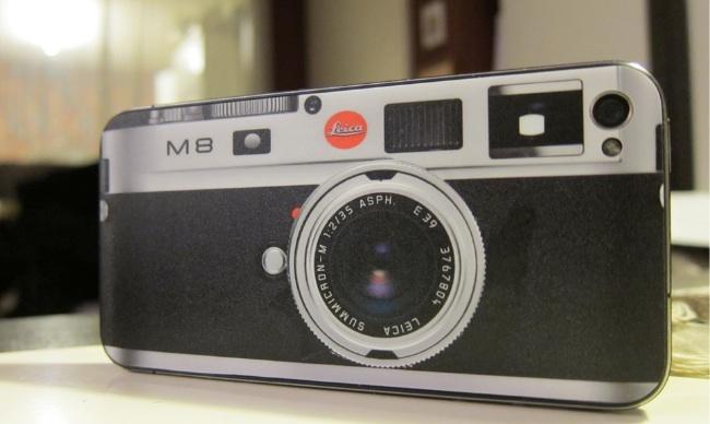 Vinilo Leica M9 para iPhone