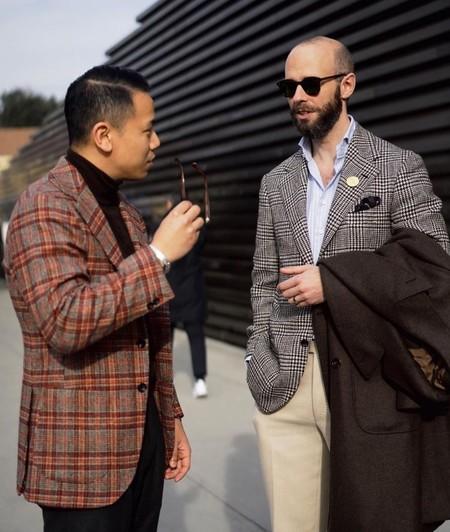 Pitti Uomo Street Style Trendenciashombre January 2020 09