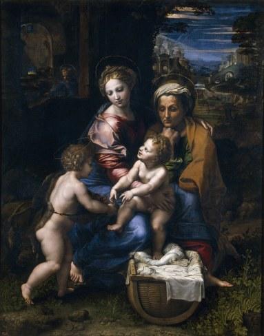 La perla- Rafael en el Prado