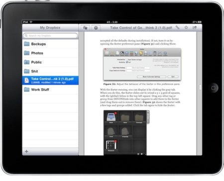 Dropbox 1.2 ya disponible y compatible con el iPad